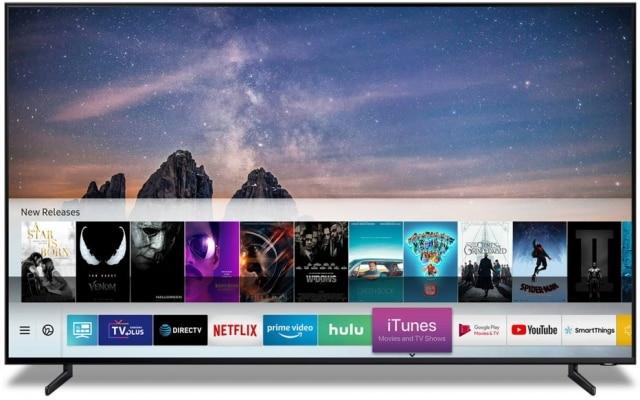 TVs das linhas 2018 e 2019 terão acesso ao iTunes, da Apple