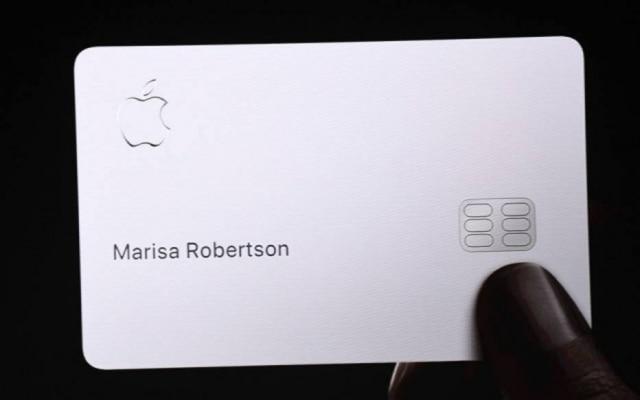 Cartão está disponível para clientes da Apple nos EUA