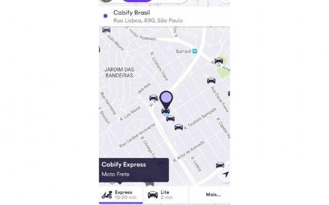 Nova modalidade de entregas por motoboys estará disponível no app do Cabify nesta terça-feira, 12