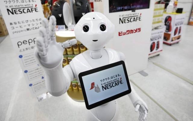 Pepper. Robô usado em lojas é o mascote da SoftBank
