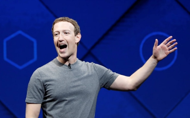 O presidente do Facebook, Mark Zuckerberg