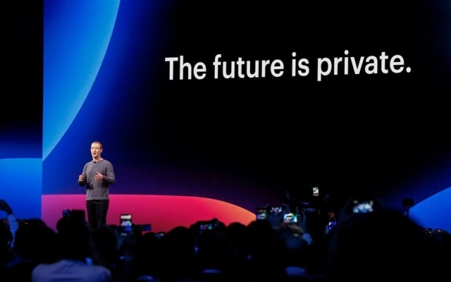Mark Zuckerberg na conferência F8; Facebook passará por principal mudança dos últimos cinco anos