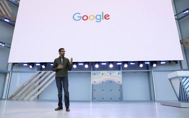 Sundar Pichai, presidente executivo do Google: foco em inteligência artificial para a saúde