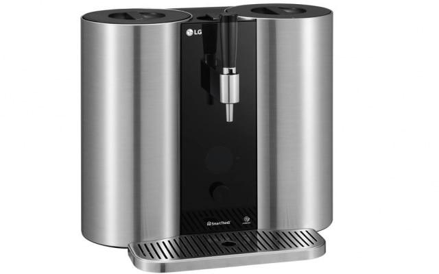 Máquina de fazer cerveja da LG tem capacidade de produzir 5 litros da bebida a cada duas semanas