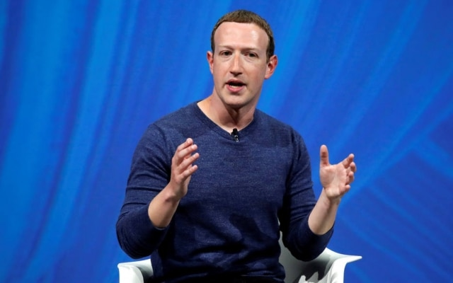 Mark Zuckerberg é o presidente executivo do Facebook