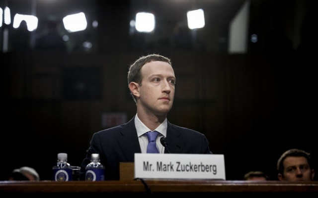 Mark Zuckerberg, presidente executivo do Facebook