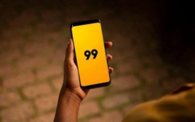 O pagamento da carona é feito pelo app da 99
