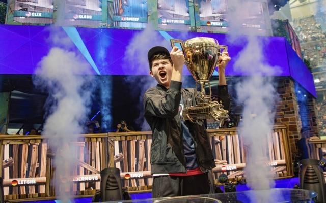 Kyle Giersdorf venceu acategoria solo da Copa do Mundo de Fortnite