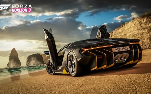 O modelo da Lamborghini que você vê aí em cima é o garoto propaganda do jogo, que contém mais de 350 carros diferentes.