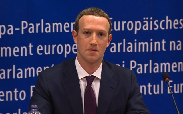 Mark Zuckerberg é presidente e fundador do Facebook