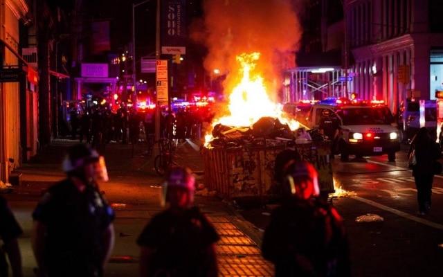 Desde a última semana, os EUAtêm protestos nas principais cidades do país pela morte de George Floyd