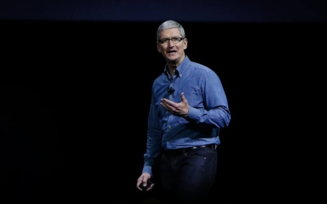 Tim Cook no WWDC 2016