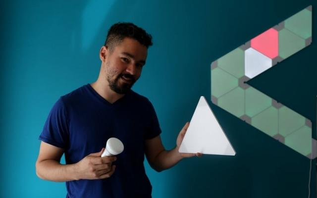 Luís Leão fez adaptações na casa com produtos inteligentes