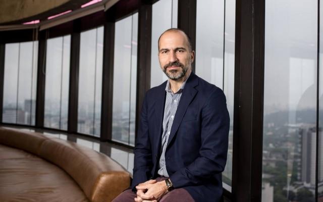 Dara Khosrowshahi, o atual presidente executivo do Uber: vitória nas negociações