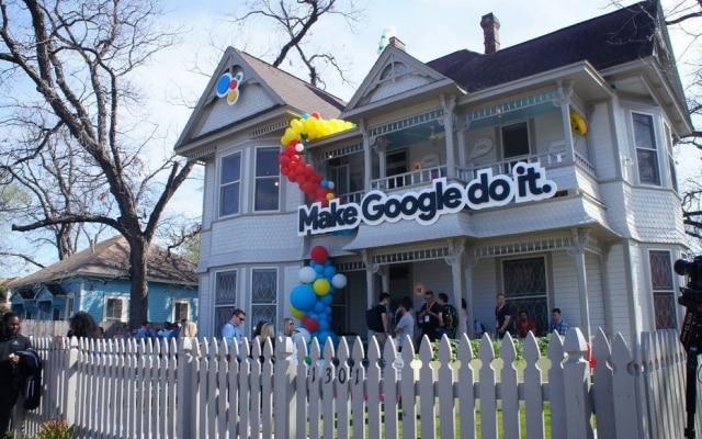 Casa do Google em Austin promove assistente pessoal da marca