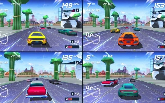 Grande novidade do game para PS4 é a possibilidade de jogar em tela dividida, como se fazia nos anos 1990