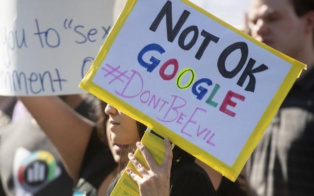 Manifestação contra abuso sexual no Google reuniu funcionários do mundo inteiro