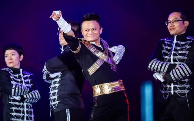 Jack Ma, o fundador da Alibaba, gosta de aparições animadas