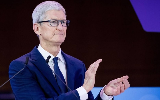 Tim Cook é o presidente executivo da Apple