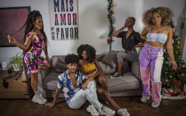 Mellanie Poca, Abner Almiro, Bea Galhano, Victor Goes e Sarah Gama sãoinfluenciadores da Black House