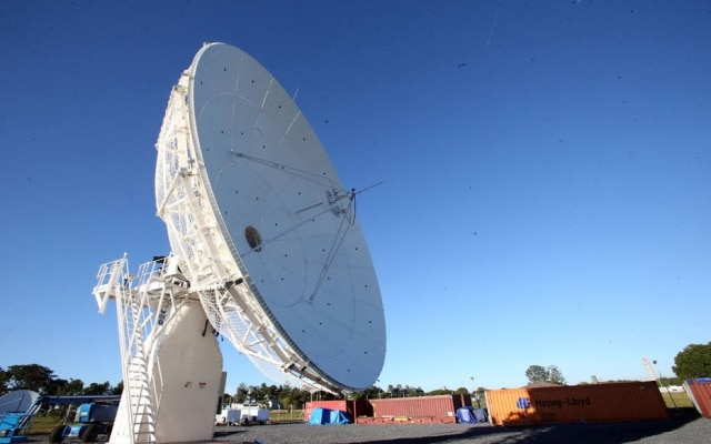 Primeira antena que vai controlar satélite geoestacionário da Telebrás foi instalada em fevereiro, em Brasília