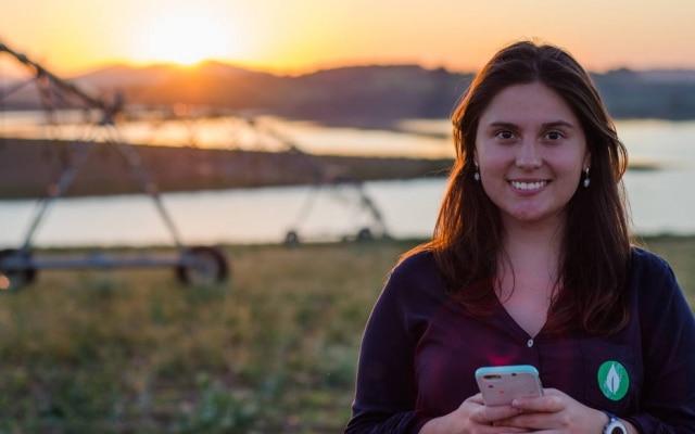 Mariana de Vasconcelos criou a Agrosmart, empresa que quer melhorar a eficiência de irrigações, economizando até 60% da água utilizada hoje