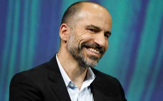 Dara Khosrowshahi é presidente executivo do Uber