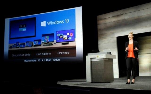 Windows 10 foi lançado em julho de 2016