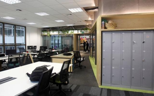 Espaço de co-working noGoogle Campus São Paulo, que fica no bairro do Paraíso, na zona sul da capital paulista.