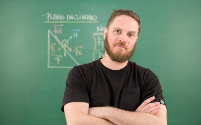 Marco Fisbhen, presidente executivo da Descomplica: 500 mil alunos como assinantes