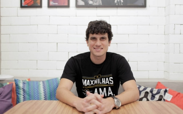 Max Oliveira, presidente executivo da startup mineira MaxMilhas