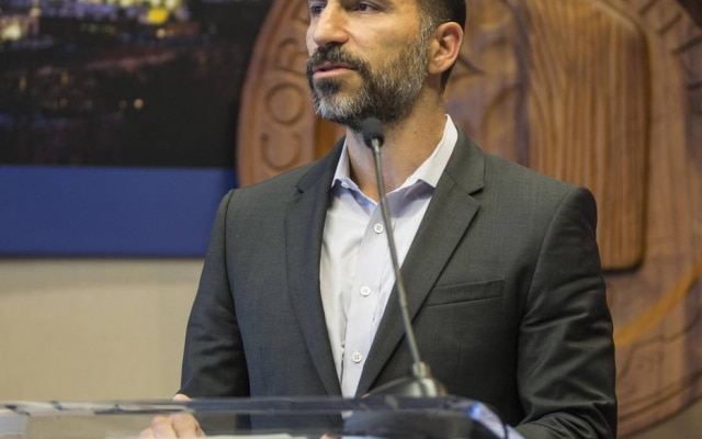 Dara Khosrowshahi, diretor-geral do site Expedia, foi nomeado o novo Presidente Executivo do Uber.