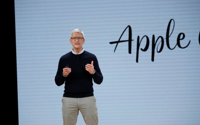 Tim Cook é o presidente da Apple