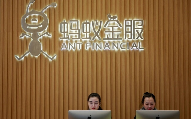 Ant Financial Services Group é a maior plataforma de pagamentos onlines da China