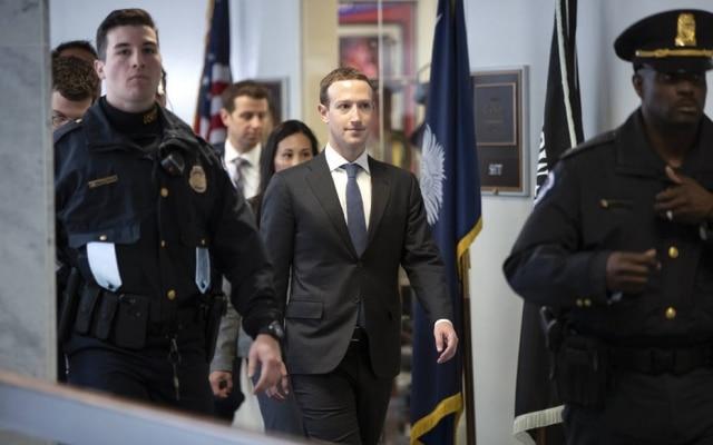 Mark Zuckerberg tem encontro com parlamentares no Congresso dos Estados Unidos