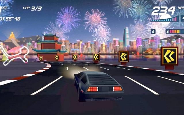Jogo originalmente lançado para o iOS, Horizon Chase se inspira em clássicos como Top Gear e Outrun