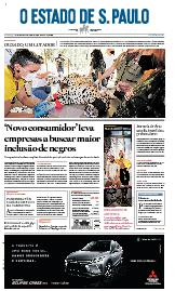 Capa O Estado de São Paulo - Domingo, 27 de setembro de 2020