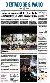Capa O Estado de São Paulo - Quinta, 24 de setembro de 2020
