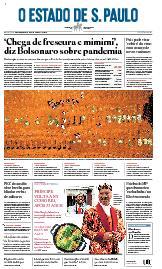 Capa O Estado de São Paulo - Sexta, 05 de março de 2021