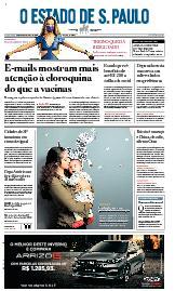 Capa O Estado de São Paulo - Terça, 15 de junho de 2021