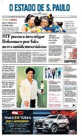 Capa O Estado de São Paulo - Quinta, 05 de agosto de 2021