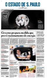 Capa O Estado de São Paulo - Domingo, 13 de junho de 2021