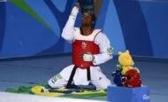 Conquista de Maicon Andrade no tae-kwon-do