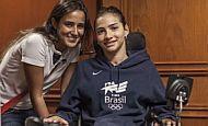 Lais Souza conta como é sua rotina após o acidente