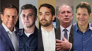 Possíveis candidatos à Presidência que participam da conferência Foto: Estadão