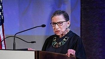 A juíza Ruth Bader Ginsburg durante evento em Nova York, em 2018. Foto: Chang W. Lee/The New York Times