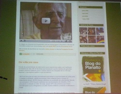 Blog do Lula 3