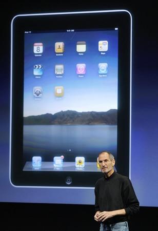 Jobs, na apresentação do novo sistema iPhone OS 4. FOTO: Robert Galbraith/REUTERS