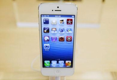 imagem do iPhone 5