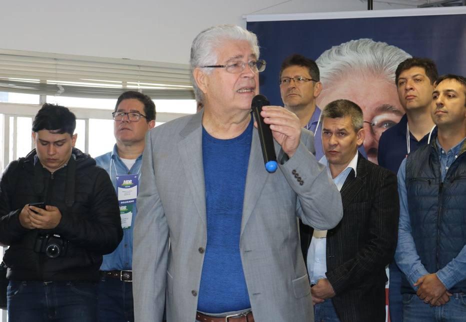 MDB sinaliza aliança com Osmar Dias (PDT) no Paraná